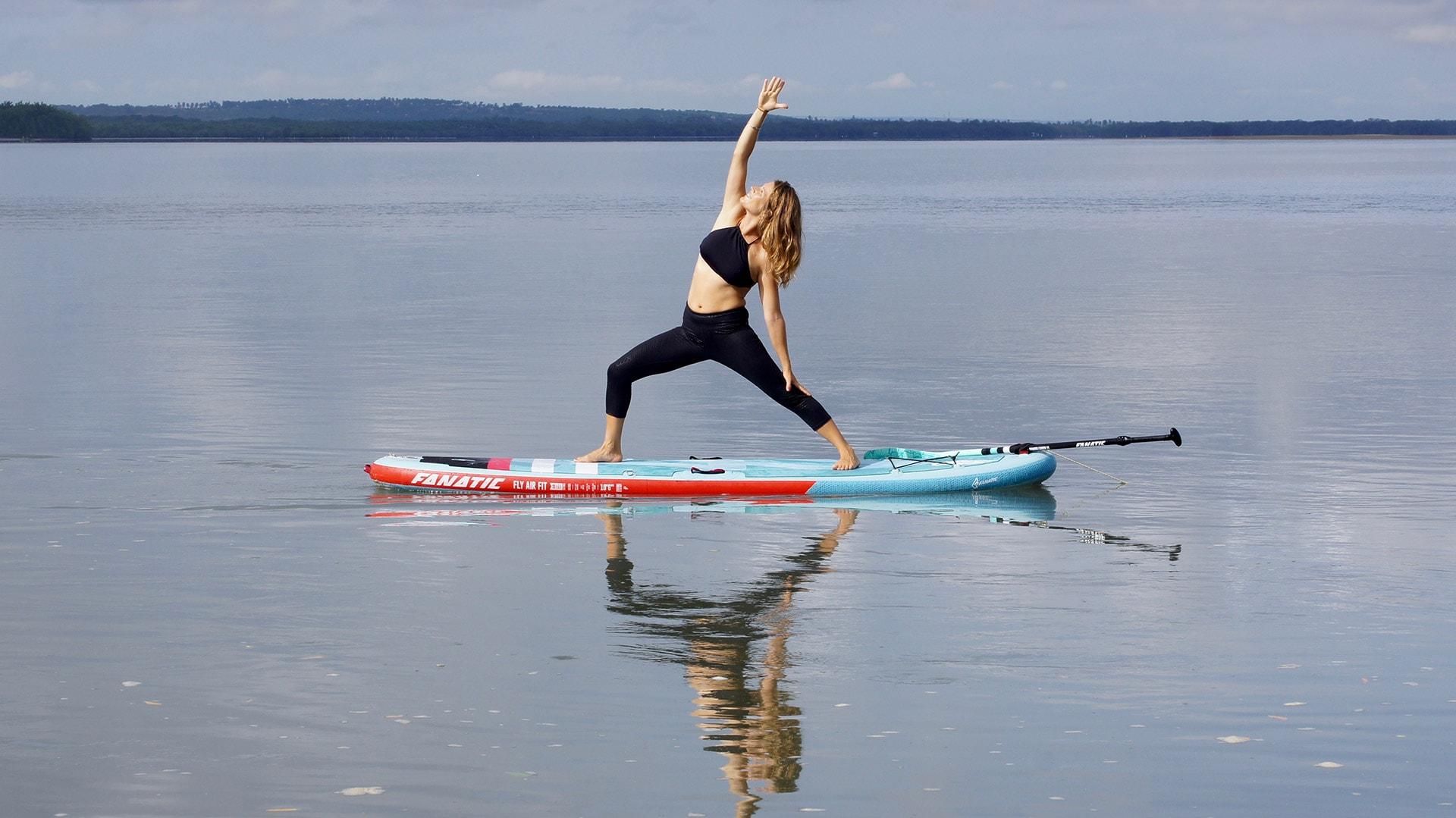 Le SUP Fitness, SUP Yoga, SUP pilates…c'est quoi?!