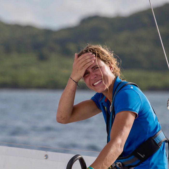 Clarisse Crémer, amoureuse de la course au large
