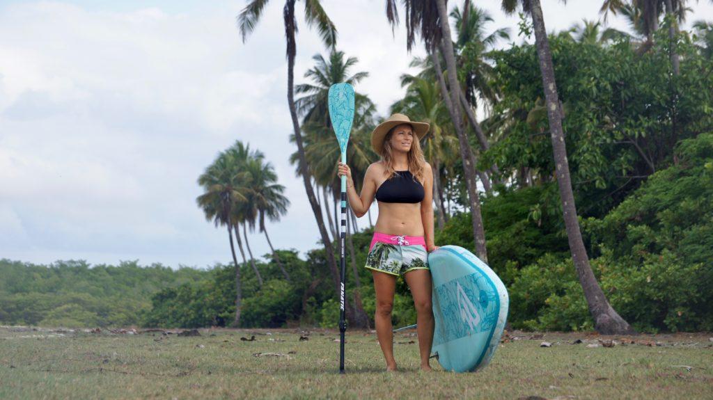 Secourir quelqu'un en stand up paddle