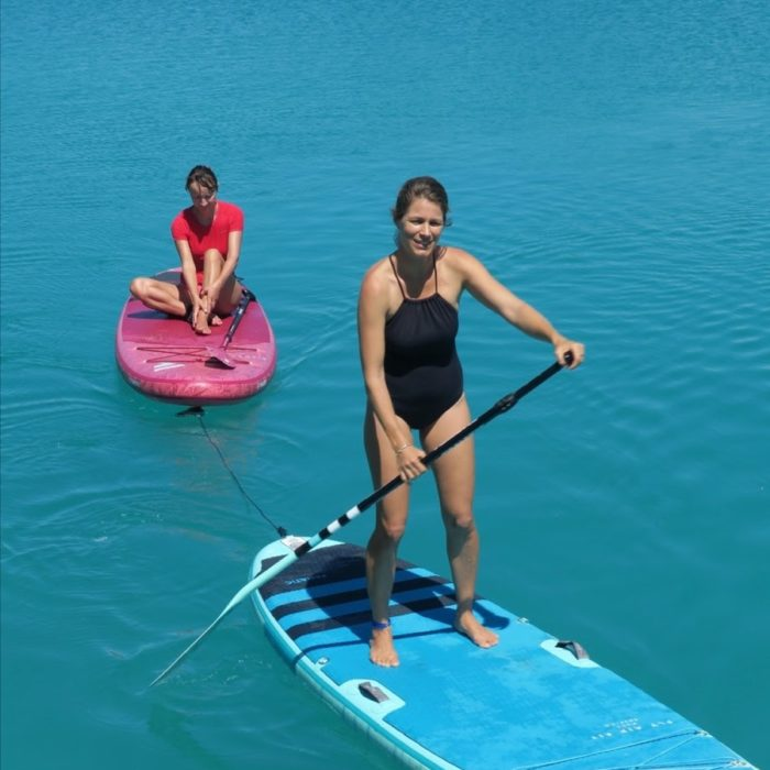 Comment secourir quelqu'un en stand up paddle